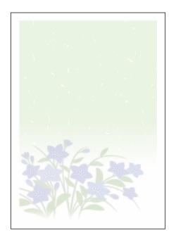 メッセージカード仏用